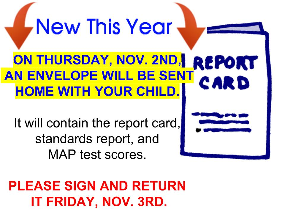 Report Card Info