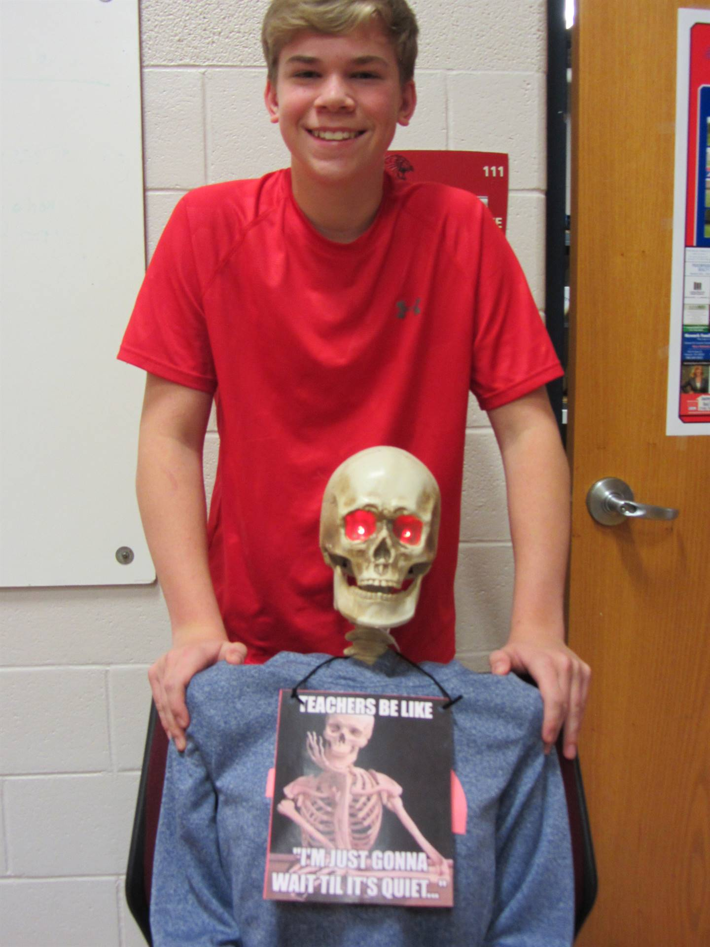 Dress as Your Favorite Meme -- part of Spirit Week activities