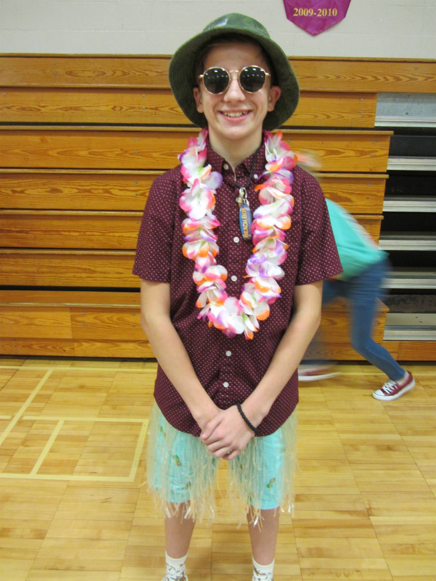 Hawaiian Day Costume Contest
