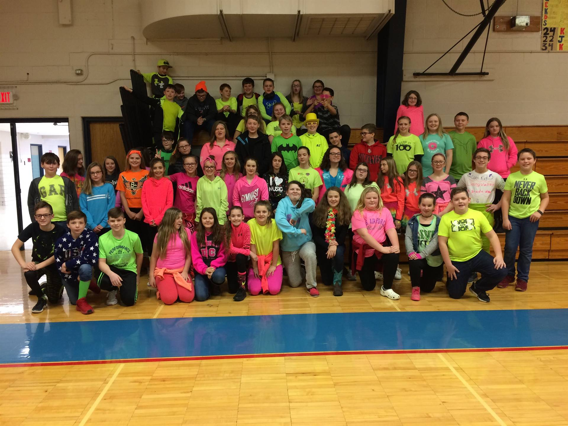 Penny War Against Cancer - Wear Neon