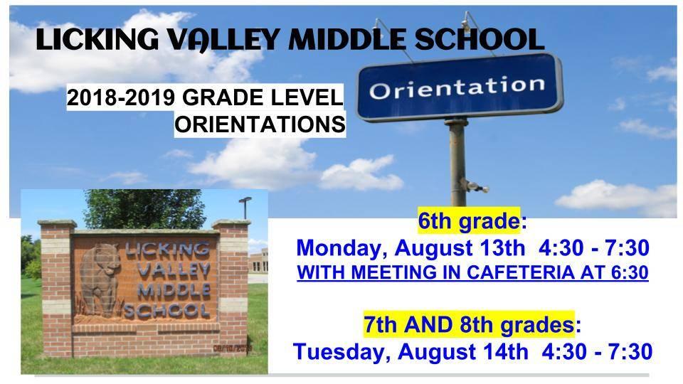 grade level orientation information