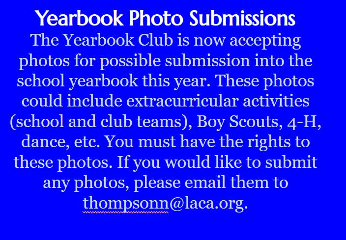 yearbook photo submissions