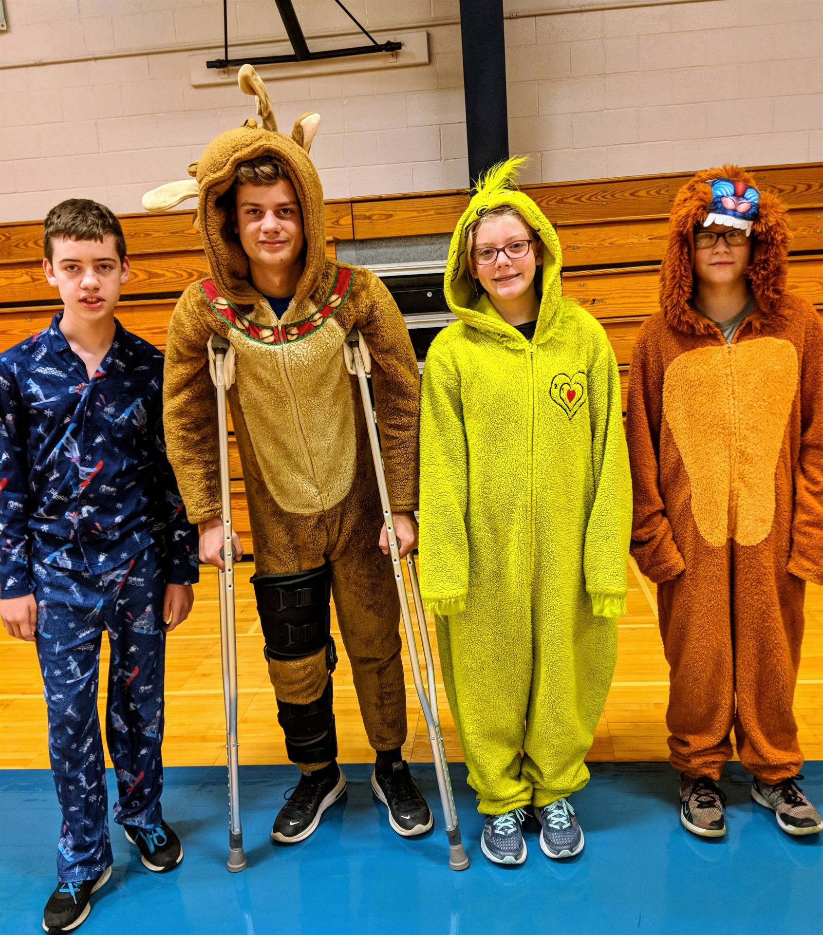 Spirit Week - Pajama Day