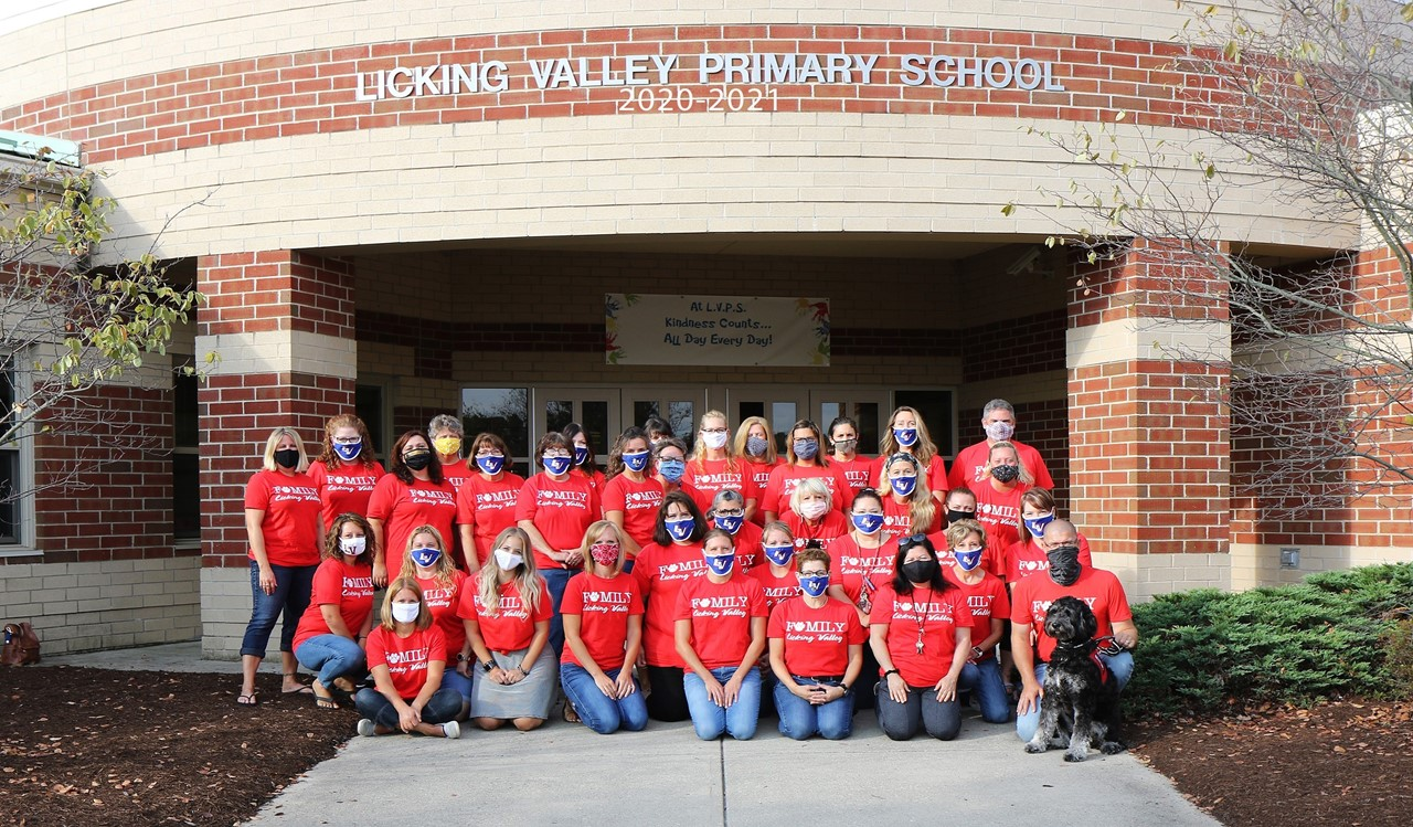 Licking Valley Primary Staff April 2021