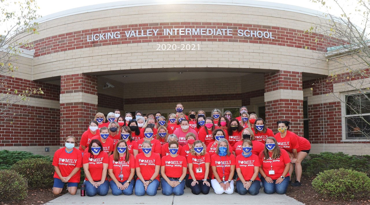 Licking Valley Intermediate Staff April 2021