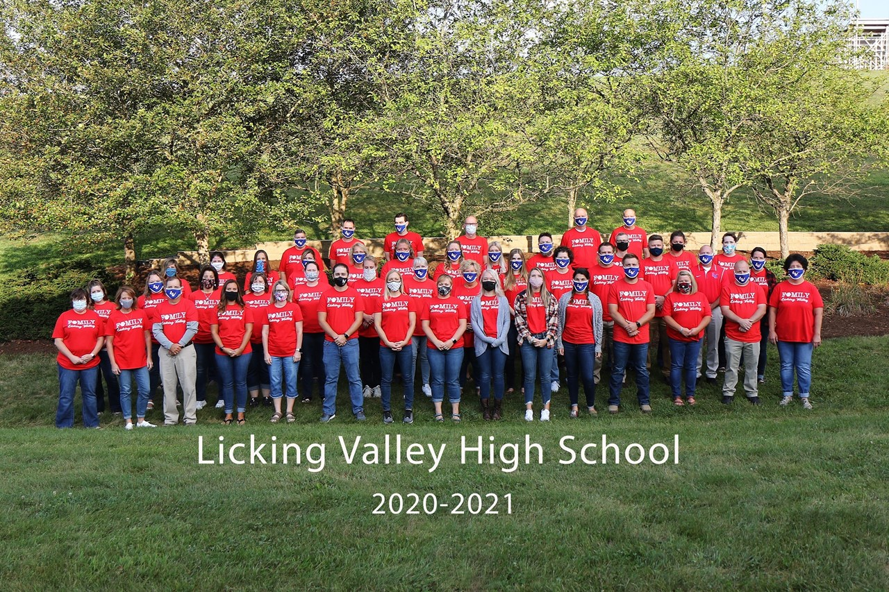Licking Valley High School Staff April 2021