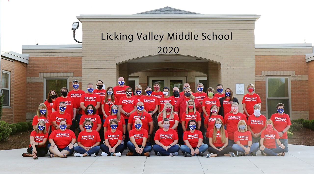Licking Valley Middle School Staff April 2021
