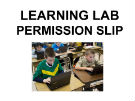 Learning lab permission form